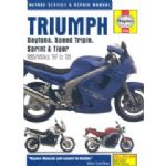 HAYNES WORKSHOP MANUAL: TRIUMPH Daytona - Speed Triple - Sprint - Tiger